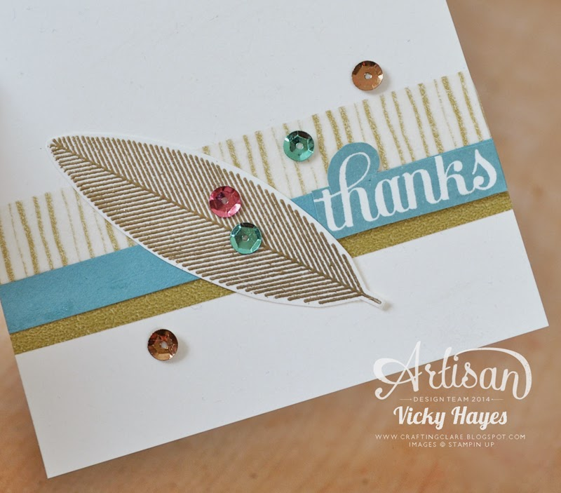 Washi tape background by UK Stampin' Up demonstrator Vicky Hayes