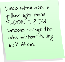 Floor It Sticky Note Saturday