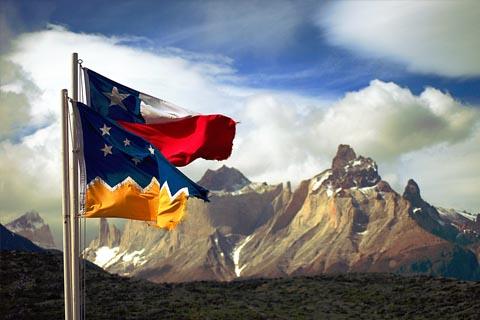 Bildresultat för bandera chile magallanes