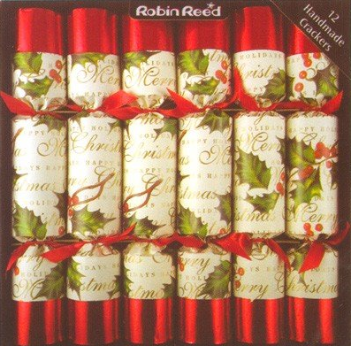 Robin Reed Christmas Crackers - Set of 12 - Source: Amazon