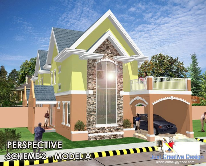 M h b alpuerto design and construction our latest designs for 2 storey house design with roof deck