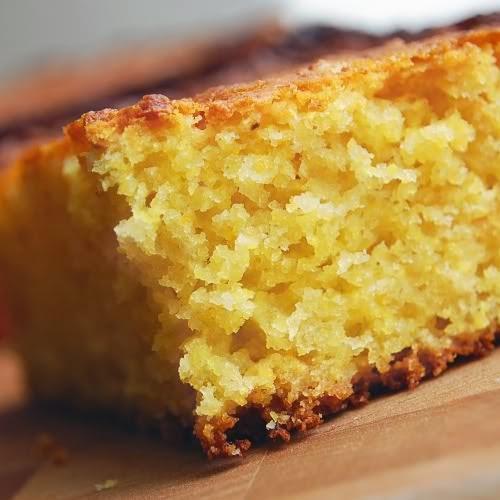 slice of corn bread