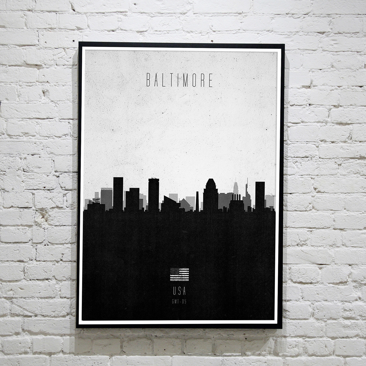 Baltimore. Contemporary Cityscape