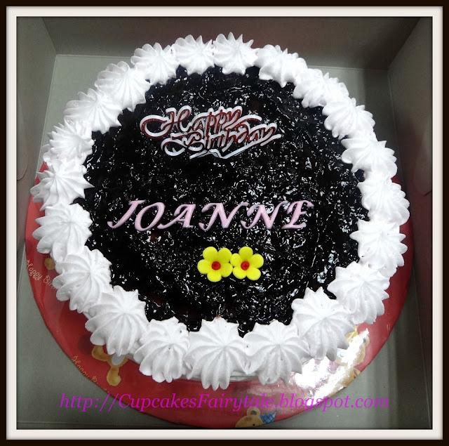 ... : JOANNE LIEWS BIRTHDAY CAKE - JAPANESE COTTONSOFT CHEESECAKE