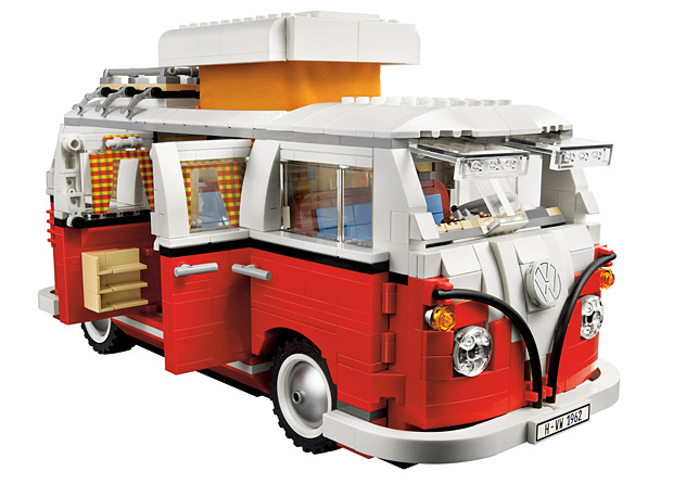 The Hip Subscription Lego Volkswagen Bus