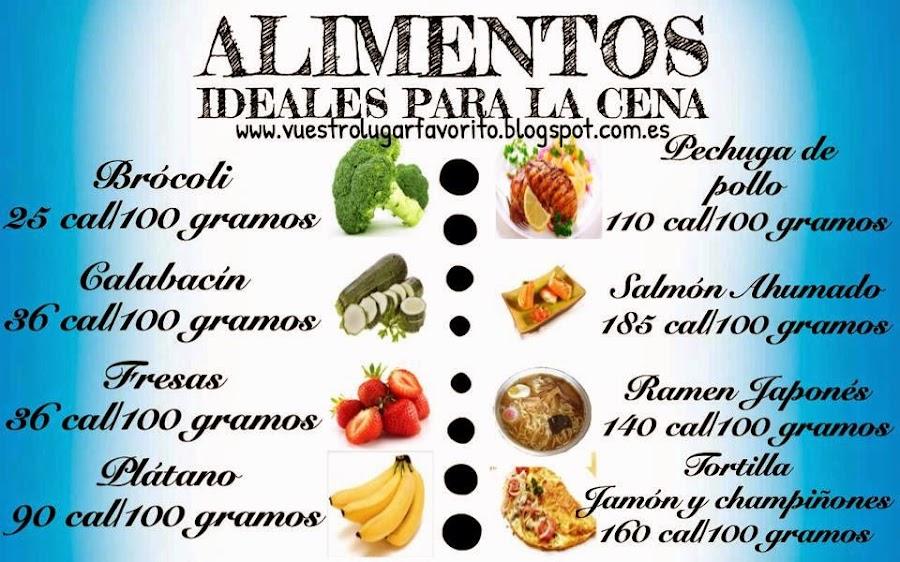 Alimentos para la cena - Alimentos para mejorar la artrosis ...