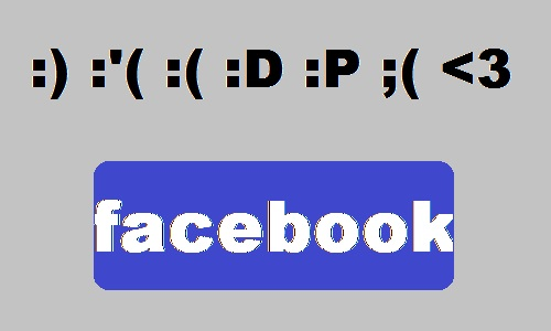 how to add emoticons on facebook status