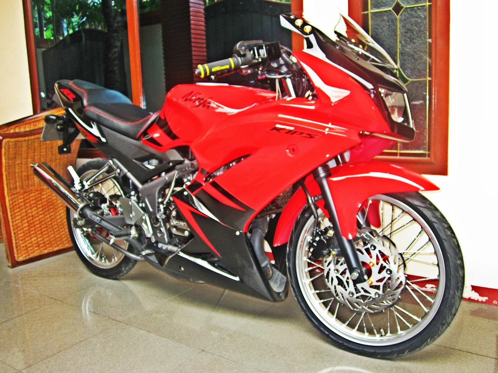 Ninja RR new Modifikasi jari-jari title=
