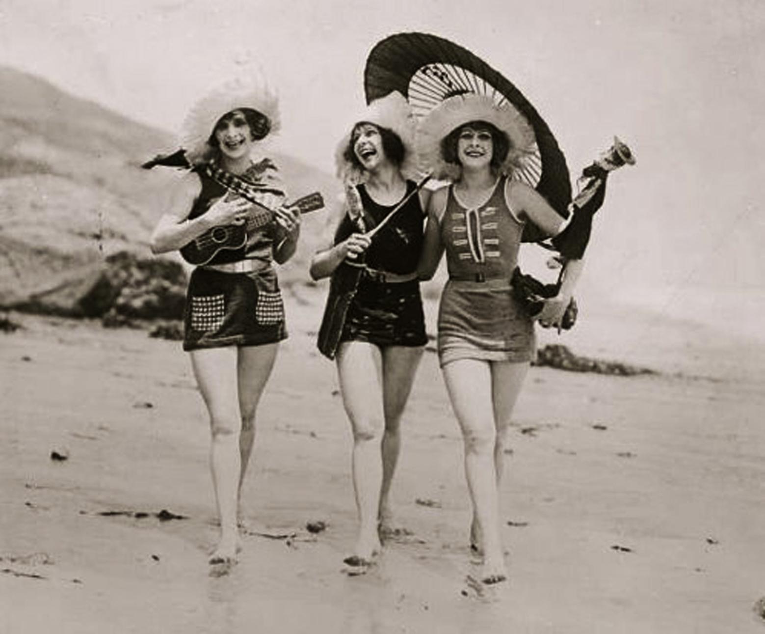 Folli anni venti: fotografie 20s costumi da bagno