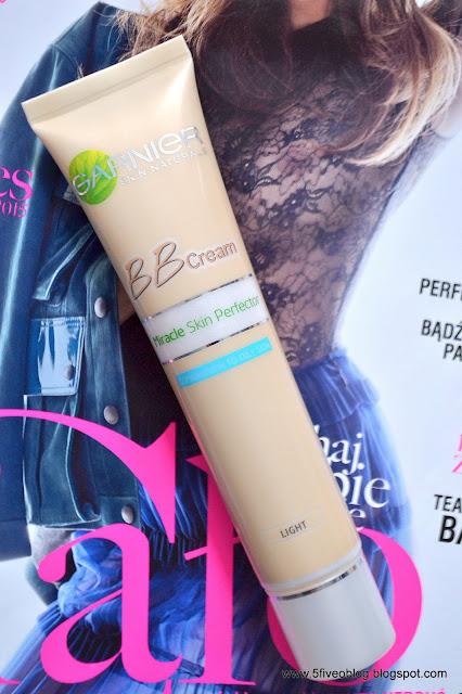Krem BB Miracle Skin Perfector od Garniera.