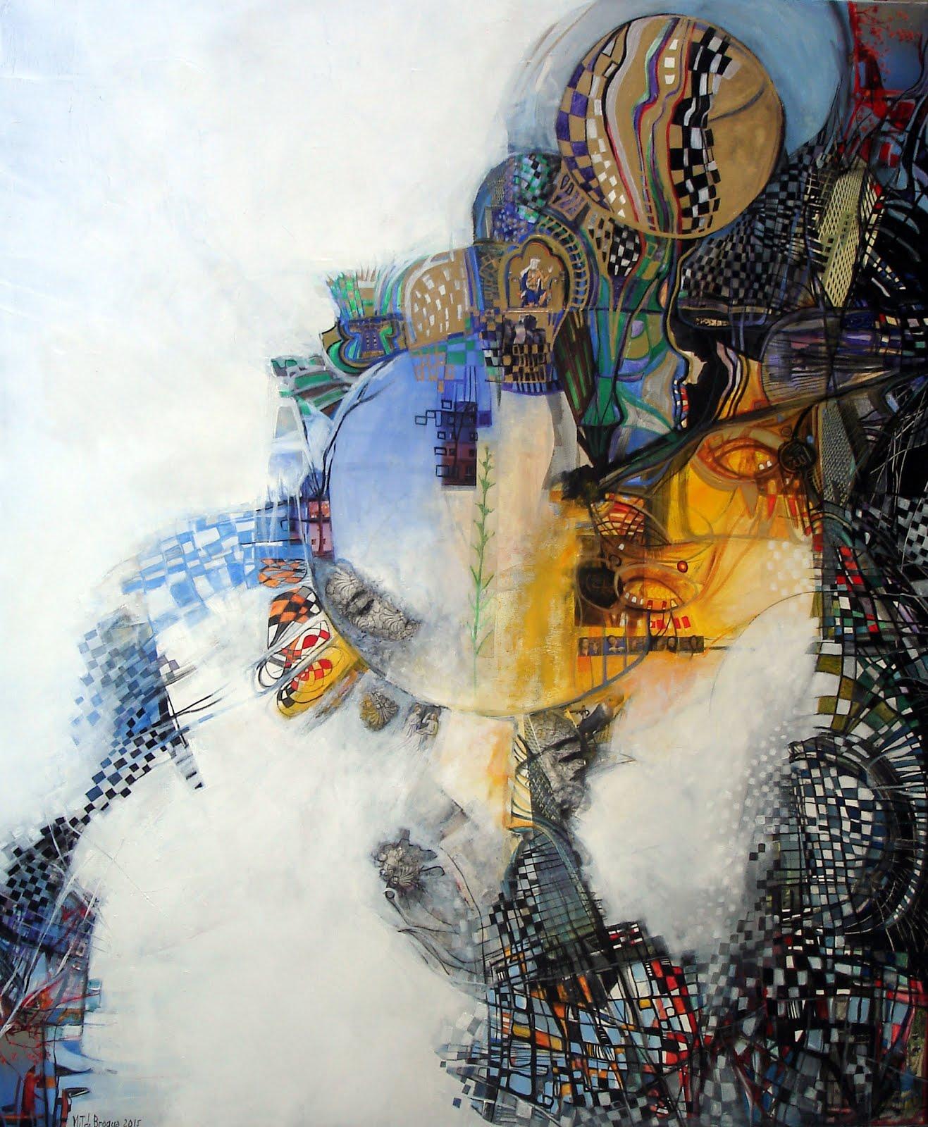 Un avant goût de paradis - 100 x 120 cm - 2015
