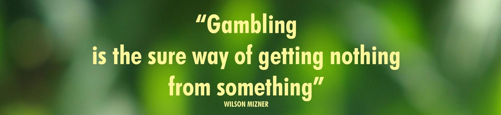 Gambling sin bible verse