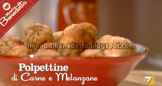 Polpettine di Carne e Melanzane al Curry di Benedetta Parodi