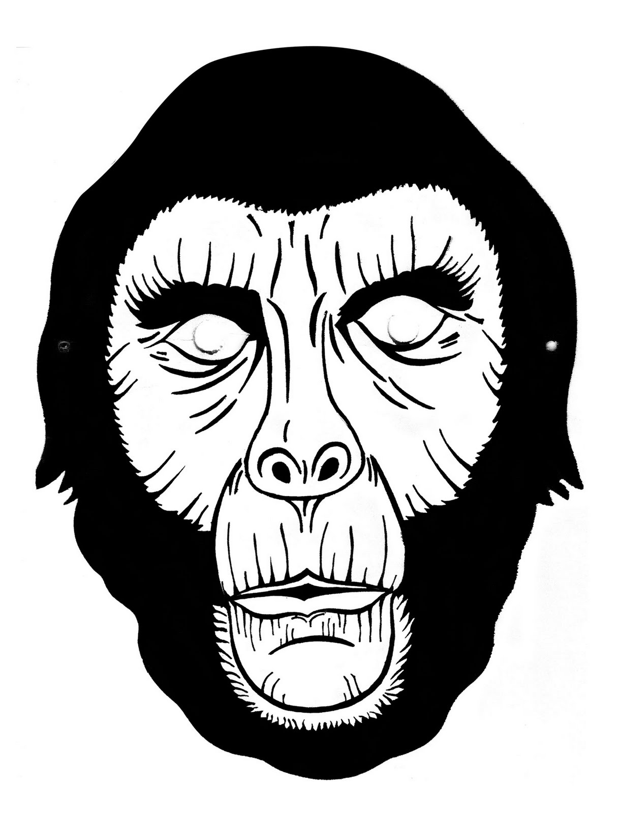 John Rozum.com: 31 Days of Halloween - Day 11 - Mask of the Day