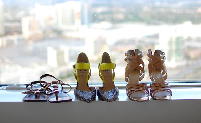 high heels at the wynn hotel