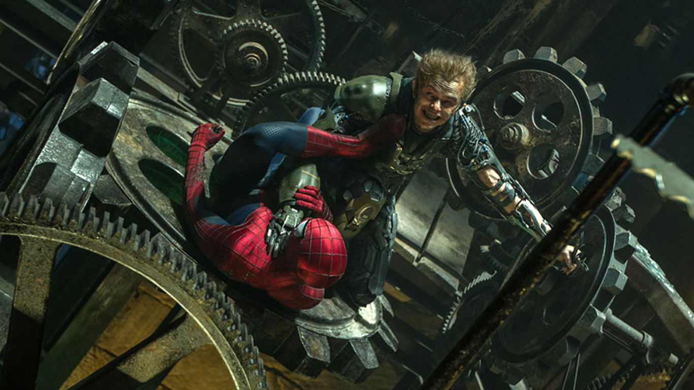 green goblin harry osborn dane dehaan the amazing spider man 2 2014    The Amazing Spiderman 2 Spiderman Vs Green Goblin