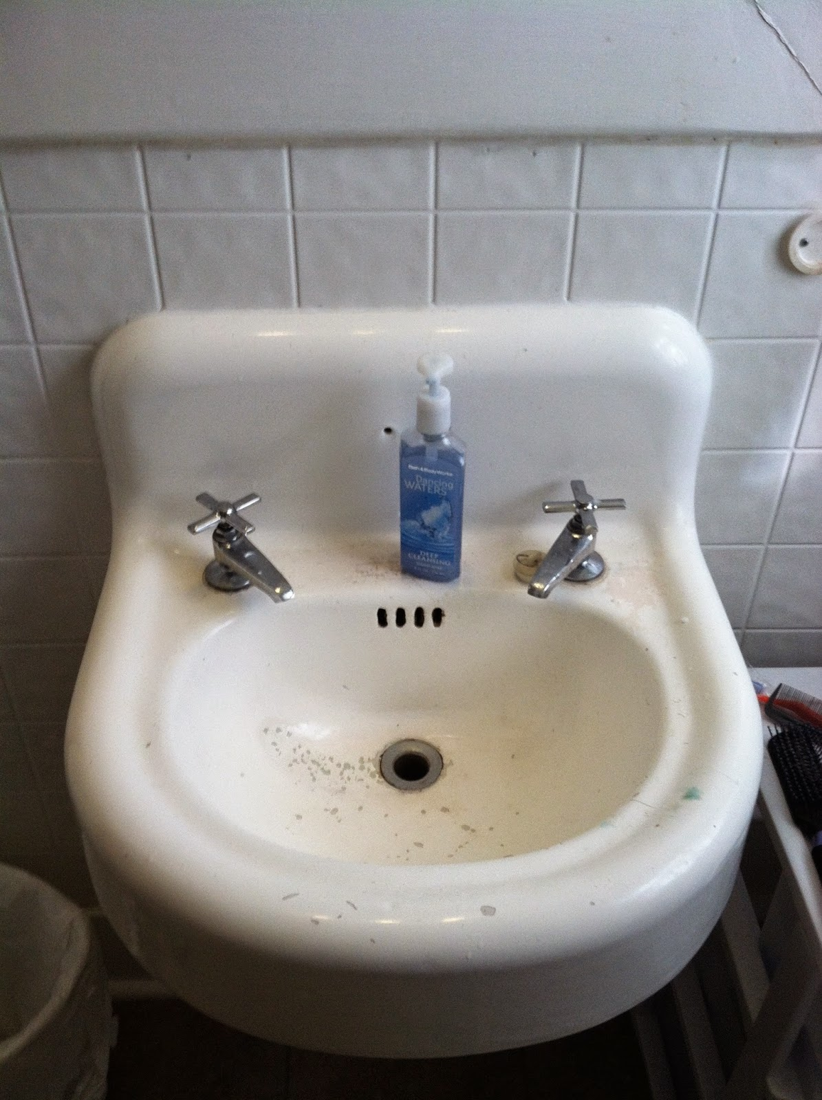 Old Wall Mounted Sink