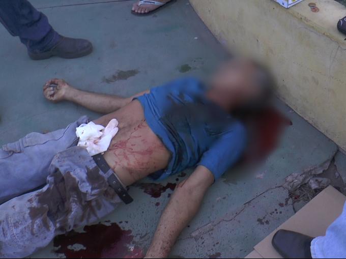 COVARDIA: Idoso é morto a golpe de faca em Caxias.