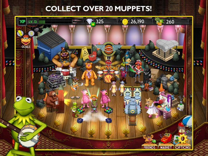My Muppets Show App iTunes App By Disney - FreeApps.ws