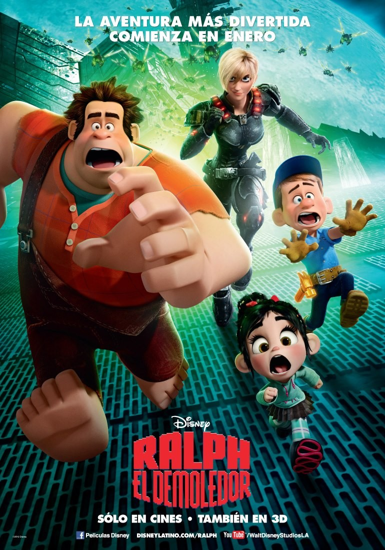 Wreck it Ralph (2012) - ราล์ฟ วายร้ายหัวใจฮีโร่ [ภาพมาสเตอร์]-[VCD][Modified][พากย์ไทย]