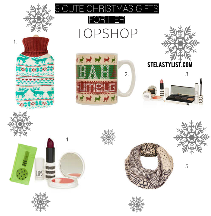 5 Cute Christmas Gifts For Her Topshop Luxe Millennial