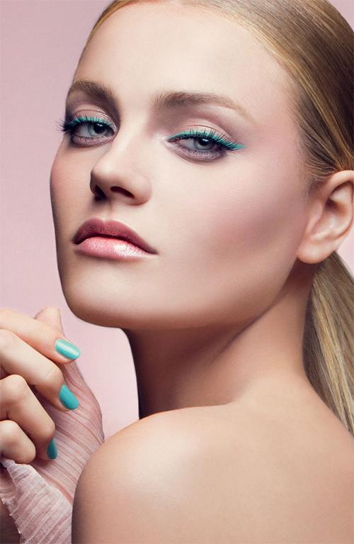 Фото макияж в пастельных тонах
