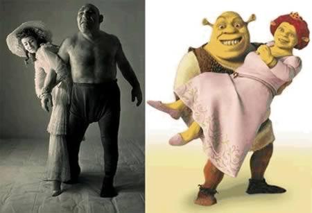 15 Orang yang Mirip Tokoh Kartun: Shrek