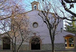 Ermita de Nuestra Señora de El Viñero en El Grado (Somontano, Huesca, Aragón, España)