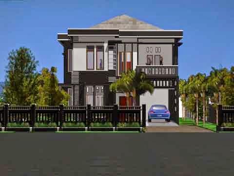 Gambar Desain Rumah Mewah