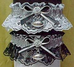 Oakland Raiders NFL Bridal Garter