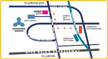 peta, jalan, lokasi, posisi, kota salju, singapura, tempat wisata di singapura