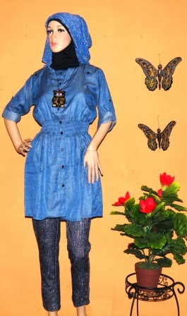 Blouse Denim Jeans BK0406