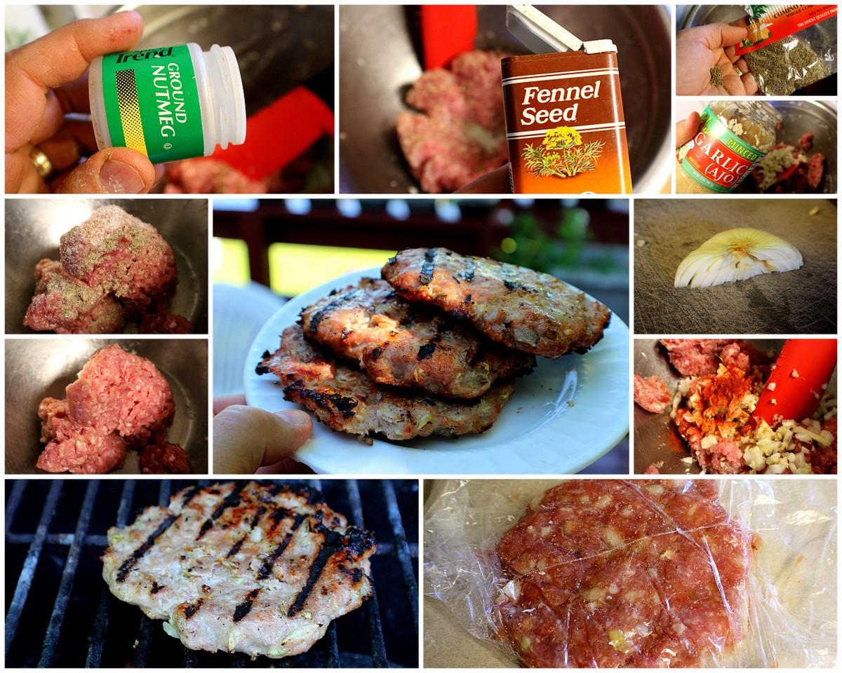 Barbecue Pork Sausage Burgers - Economical And Delicious! | Po' Papa ...
