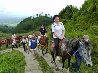 Horse Ridding in Gedong Songo Temple