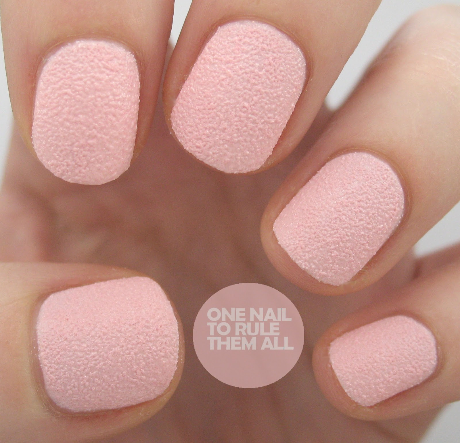 One Nail To Rule Them All: New Barry M Textured Nail