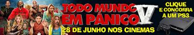 """Concurso Cultural """"Todo Mundo em Pânico V"""" -  Cinemark"""
