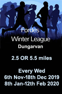 Winter Series in West Waterford - Nov 2019 to Feb 2020