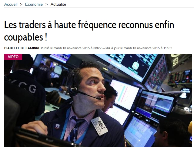 Le High Frequency Trading ou trading à haute fréquence