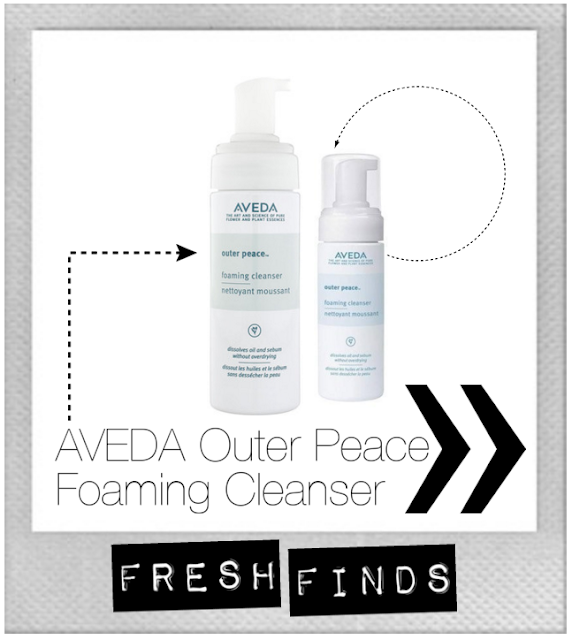 beauty, AVEDA, Outer Peace, foaming cleanser, acne, adult acne, breakouts, salicylic acid, Neutrogena, make-up remover, combination skin, oily skin, skin care, clear skin