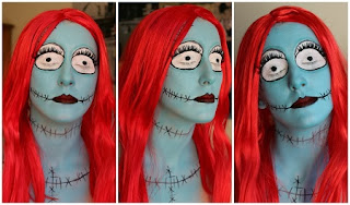 Caras Pintadas para Halloween, Diseño Muerto Viviente
