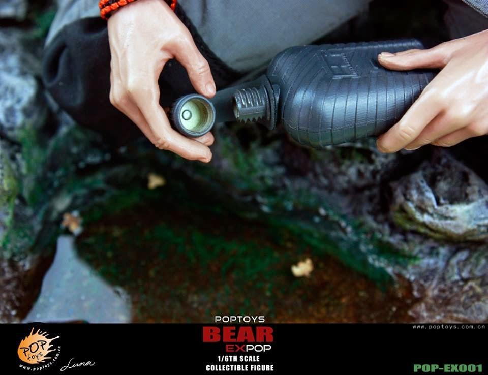 [POPTOYS] (Bear Grylls) 1/6 EX001 Wildness Survivor. Pop25
