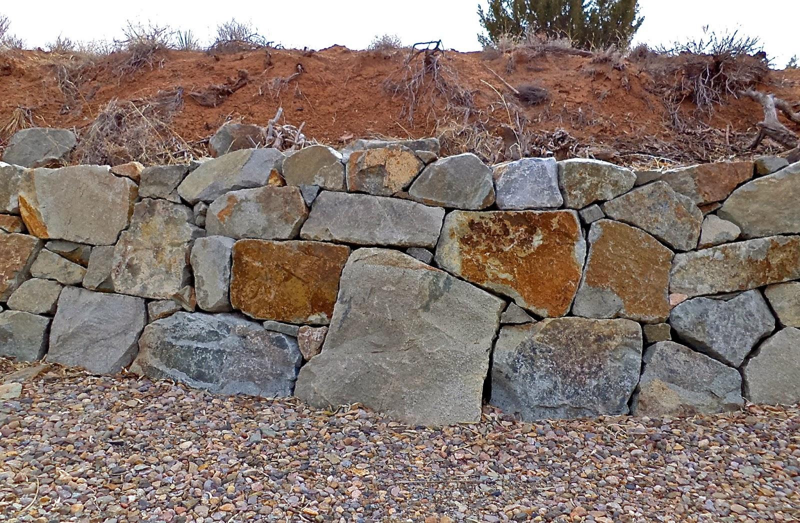 Alt build blog tips on building a dry stack stone wall - Como hacer muros de piedra ...