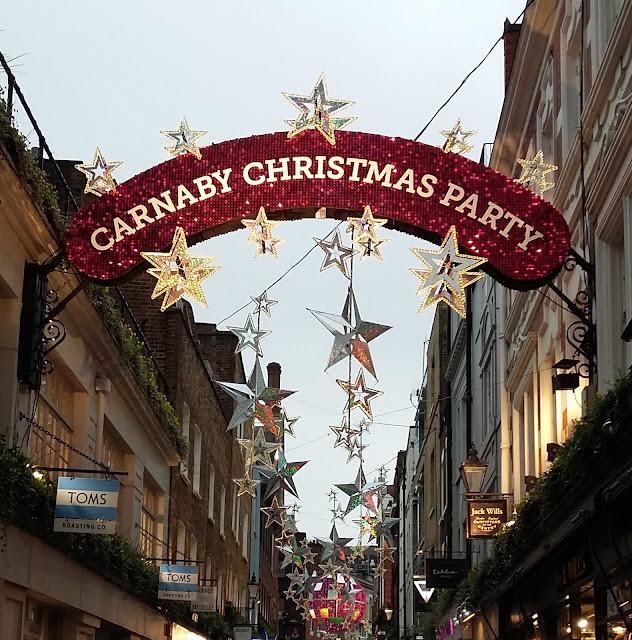 Carnaby Street - London - Christmas 2015