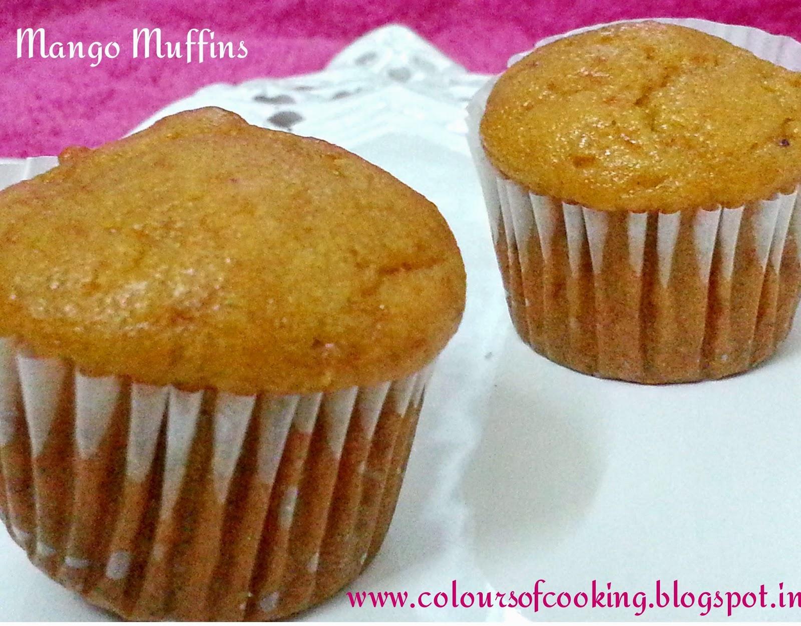 Mango muffins( vegan recipe) ~ joy of cooking
