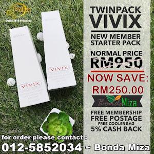 VIVIX TWIN PROMO TAHUN 2019