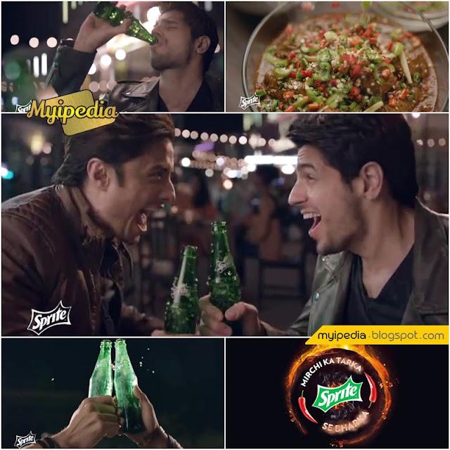 Ali Zafar & Sidharth Malhotra in Sprite TVC 2016 - Mirchi Ka Tarka Sprite Say Bharka (Video)