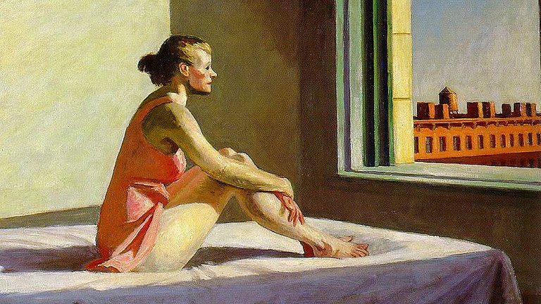 Morning Sun (Edward Hopper, 1952)