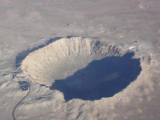 meteoritos caídos en la Tierra