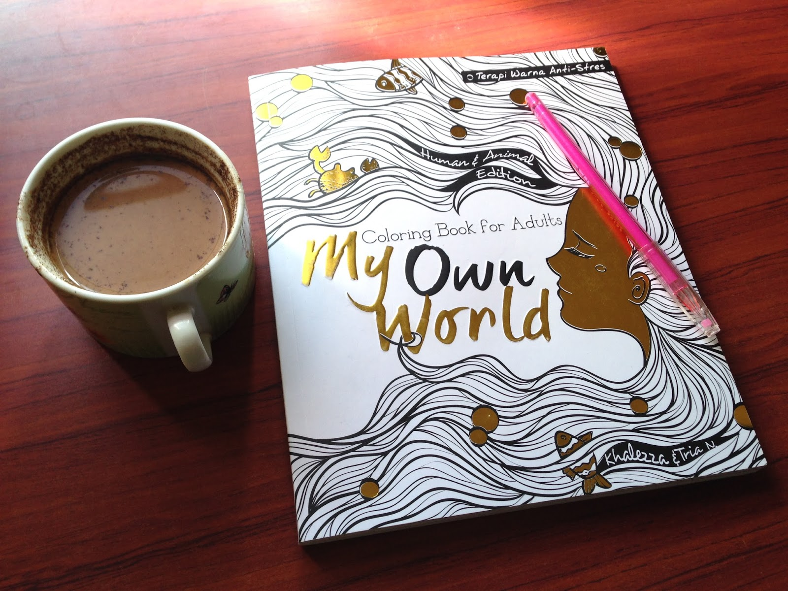 My Own WorldColoring Book For Adults Tearpi Warna Anti Stres Review