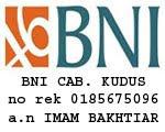 Rekening BNI Cab. Kudus